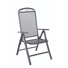 Πολυθρόνα MIMOSA GARDEN mesh μεταλλική πτυσσόμενη