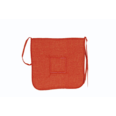 Μαξιλάρι καρέκλας κάθισμα πορτοκαλί (2τεμ.)