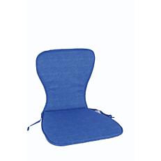 Μαξιλάρι πολυθρόνας μπλε για καρέκλα μονομπλόκ (2τεμ.)