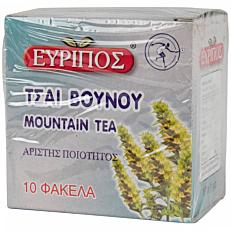 Αφέψημα EVRIPOS τσάι βουνού (10x1g)