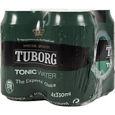 Αναψυκτικό TUBORG tonic (4x330ml)