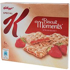 Μπάρες δημητριακών KELLOGG'S Special K Biscuits moments strawberry (5x25g)