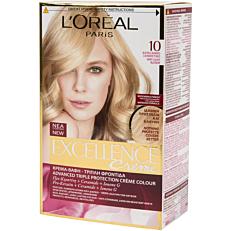 Βαφή μαλλιών L'OREAL excellence για κατάξανθα μαλλιά no.10