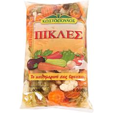 Πίκλες ΚΩΣΤΟΠΟΥΛΟΣ mix λαχανικών (600g)