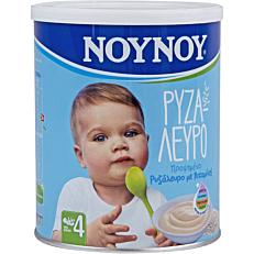 Παιδική κρέμα ΝΟΥΝΟΥ ρυζάλευρο προψημένο 4+ μηνών (200g)