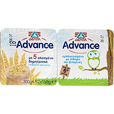 Γιαούρτι ΔΕΛΤΑ Advance βρεφικό με 5 αλεσμένα δημητριακά