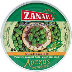 Κονσέρβα ΖΑΝΑΕ αρακάς λαδερός (280g)