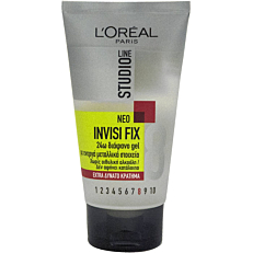 Gel μαλλιών L'OREAL studio line extra δυνατό κράτημα (150ml)