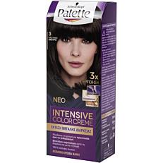 Βαφή μαλλιών SCHWARZKOPF palette semi set καστανό σκούρο νο.3