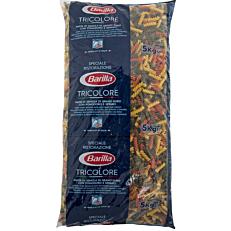 Πάστα ζυμαρικών BARILLA Fusilli πέννες τρικολόρε (5kg)