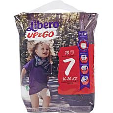 Πάνες LIBERO Up & Go No.7 16-26kg (18τεμ.)