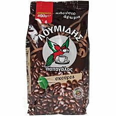Καφές ΛΟΥΜΙΔΗΣ παπαγάλος σκούρος ελληνικός (490g)