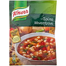 Σούπα σε σκόνη KNORR μινεστρόνε (77g)