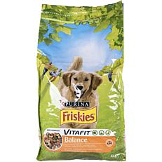 Ξηρά τροφή FRISKIES σκύλου με κοτόπουλο (4kg)