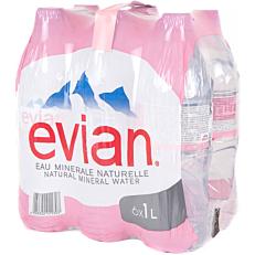 Νερό EVIAN φυσικό μεταλλικό (6x1lt)