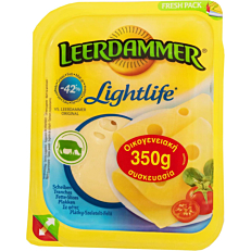 Τυρί LEERDAMMER emmental light σε φέτες (350g)