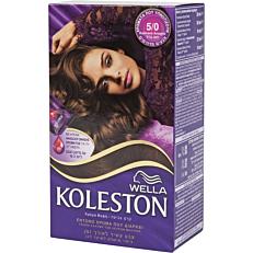Βαφή μαλλιών WELLA Koleston καστανό ανοιχτό no.5/0 με κρέμα αναζωογόνησης χρώματος (50ml)