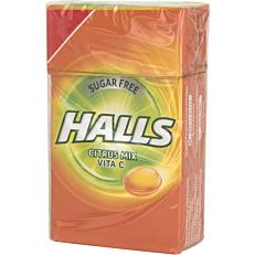Καραμέλες HALLS Vitamin-C citrus mix (1τεμ.)