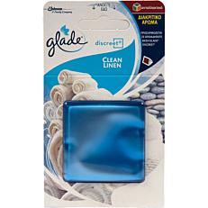 Αρωματικό χώρου GLADE discreet clean linen, ανταλλακτικό (1τεμ.)