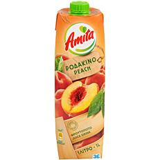 Χυμός AMITA νέκταρ ροδάκινο (1lt)