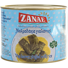 Κονσέρβα ΖΑΝΑΕ ντολμαδάκια (2kg)