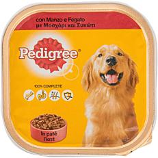 Τροφή PEDIGREE σκύλου με μοσχάρι και συκώτι (300g)