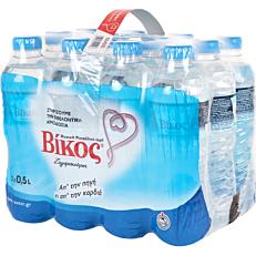 Νερό ΒΙΚΟΣ φυσικό μεταλλικό (12x500ml)