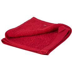 Πετσέτα YASEMI λαβέτα 100% βαμβακερή κόκκινη 30x30cm