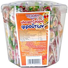 Γλειφιτζούρι VICTORY φρούτων (90τεμ.)