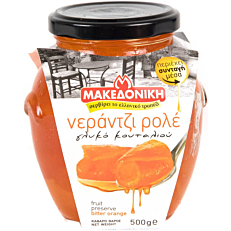 Γλυκό του κουταλιού ΜΑΚΕΔΟΝΙΚΗ νεράντζι ρολέ (500g)