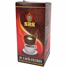 Καφές SAS φίλτρου σε μερίδες (10x7,5g)