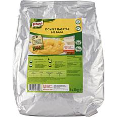 Πουρές KNORR πατάτας με γάλα (2kg)