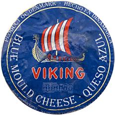 Τυρί VIKING blue cheese Δανίας (~3kg)