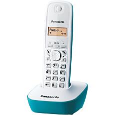 Τηλέφωνο PANASONIC KX-TG1611 ασύρματο, λευκό-μπλε
