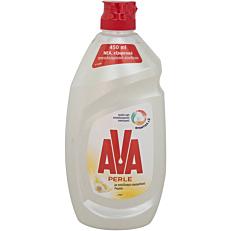 Απορρυπαντικό πιάτων AVA PERLE λεμόνι, υγρό (450ml)