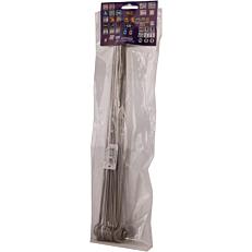 Σουβλί πλακέ inox 30cm (12τεμ.)