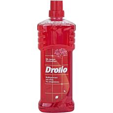Καθαριστικό DROLIO ΓΙΑ ΕΠΑΓΓΕΛΜΑΤΙΕΣ για όλες τις επιφάνειες με άρωμα λουλουδιών, υγρό (1lt)