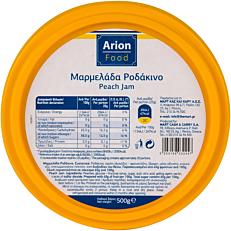 Μαρμελάδα ARION FOOD ροδάκινο (500g)