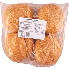 Αρτοσκεύασμα ΑΛΕΞΑΚΗΣ για burger με σησάμι κατεψυγμένο (8τεμ.)