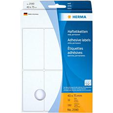 Ετικέτες HERMA 2590 40x75mm, 32 φύλλα