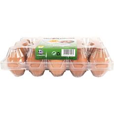 Αυγά ΑΥΓΟΜΑΝΙΑ φρέσκα μεγάλα Α' κατηγορίας (15x63-73g)