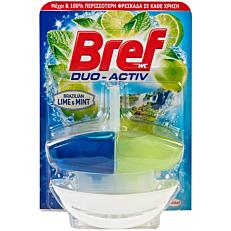 Αποσμητικό τουαλέτας BREF block duo active lime & mint