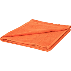 Πετσέτα MORENA LINE μπάνιου βαμβακερή πορτοκαλί 70x140cm