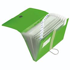 Ντοσιέ E.ORGA PP φυσαρμόνικα 12 θέσεων πράσινο