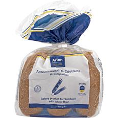 Ψωμί ARION FOOD σάντουιτς για hot dog (6τεμ.)