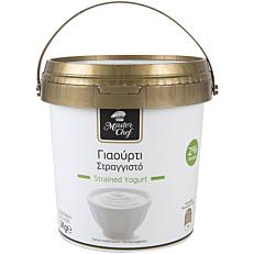 Γιαούρτι MASTER CHEF στραγγιστό 2% λιπαρά (1kg)