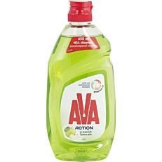 Απορρυπαντικό πιάτων AVA ξύδι, μήλο, μέντα, υγρό (450ml)