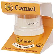 Βερνίκι παπουτσιών CAMEL πάστα διαφανές (55ml)