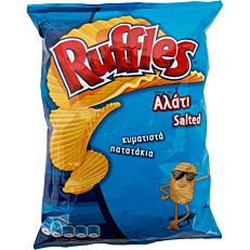 Πατατάκια RUFFLES αλάτι (150g)
