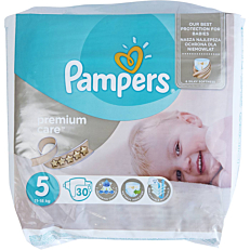 Πάνες PAMPERS premium care No.5 11-18kg (30τεμ.)
